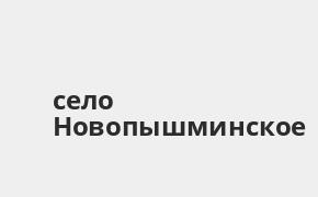 Справочная информация: Банкоматы УБРиР в селе Новопышминское — часы работы и адреса терминалов на карте
